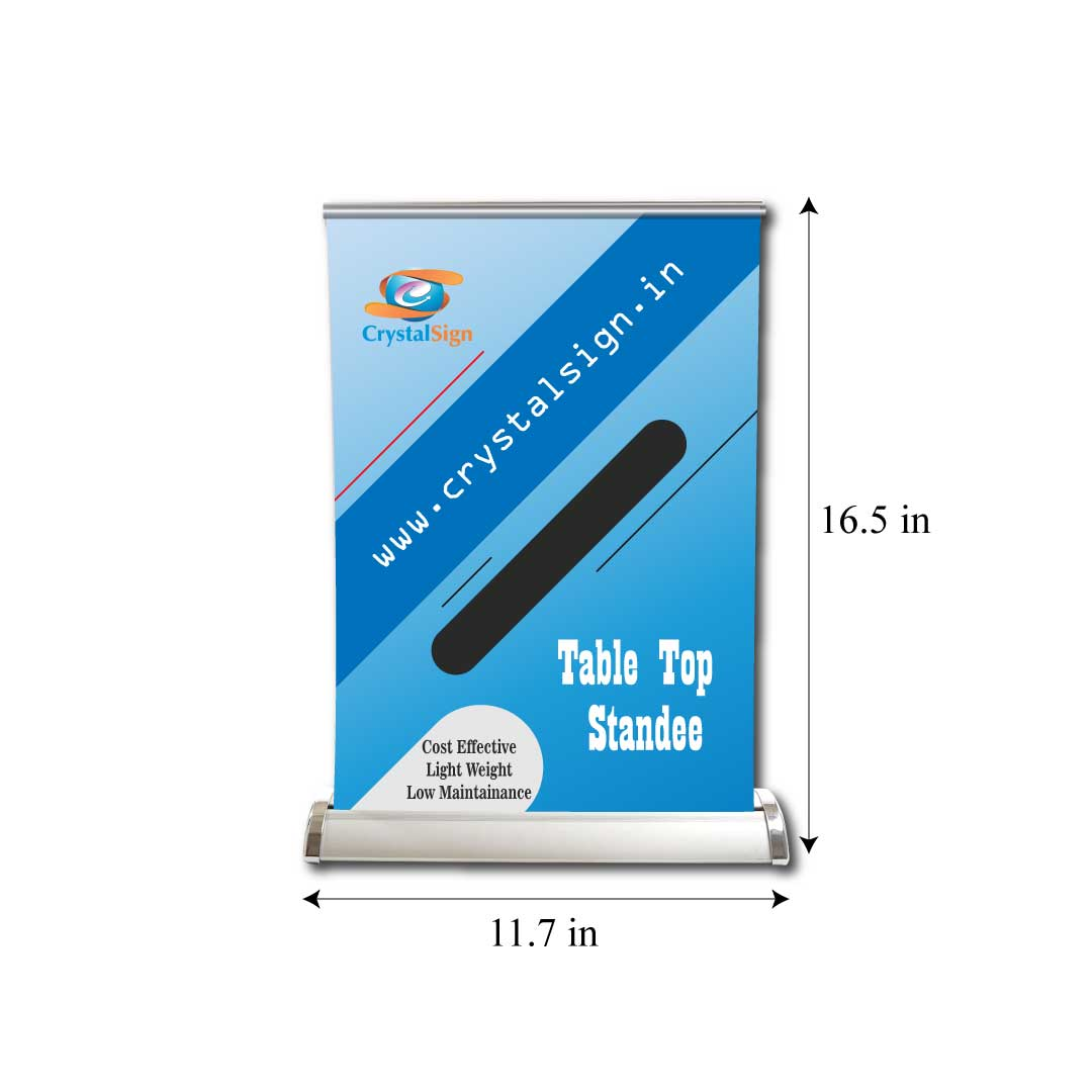 Premium Table Top Standee HD Print