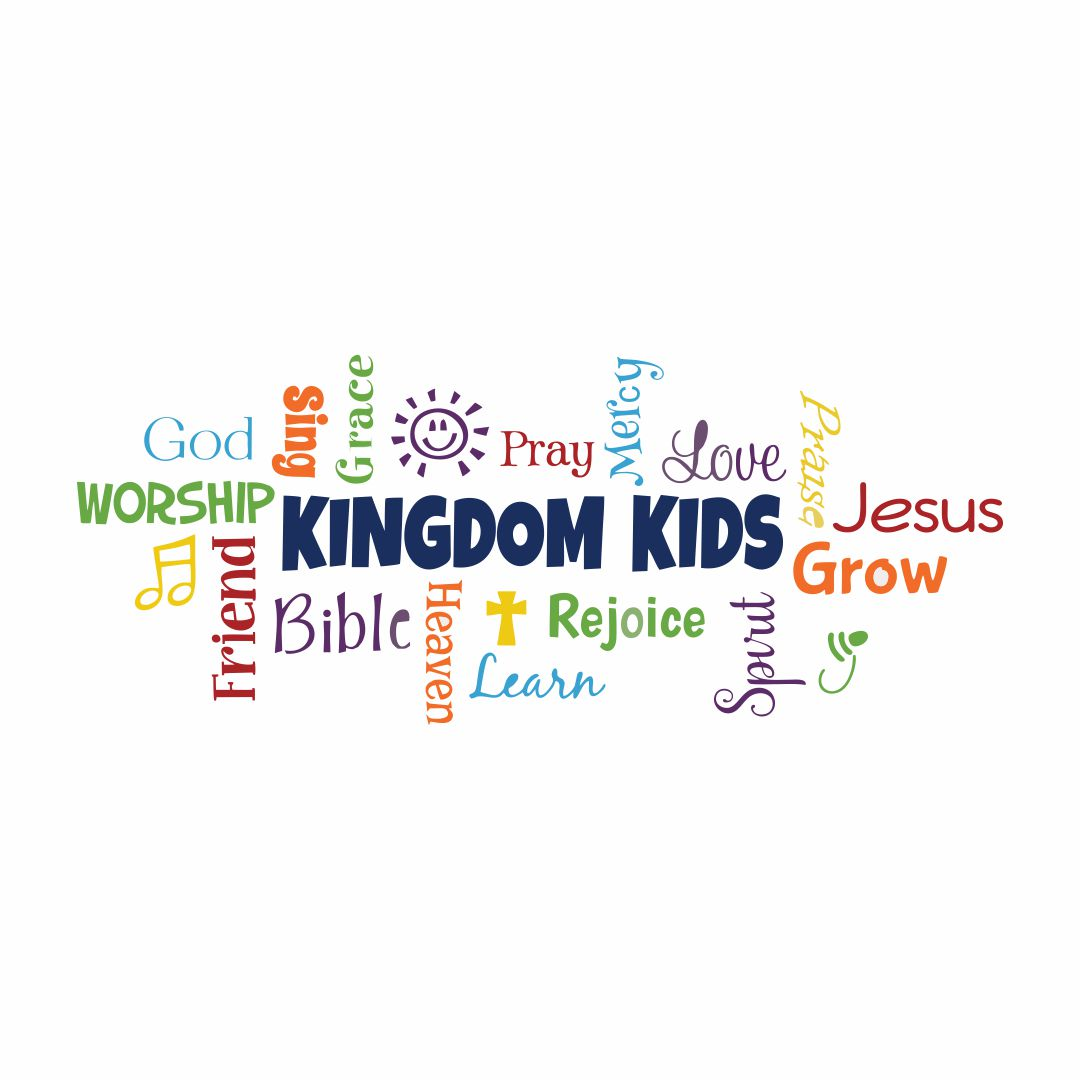 Kingdom kids Wall Sticker for Bedroom Letters ideal size on wall 175 cm X 120 cm Multicolor