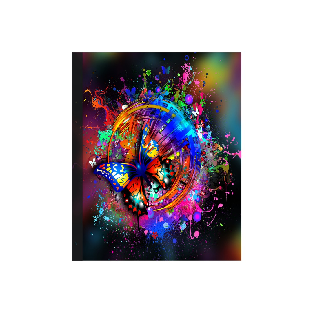 Colourful Canvas Abstract Wall Painting 33CmX40Cm