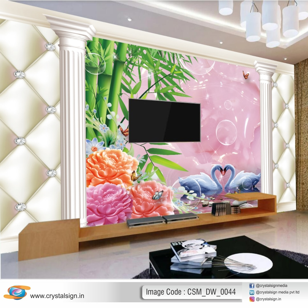 3D Wallpaper Abstract Design Decor Wallpaper CSM DW 0044