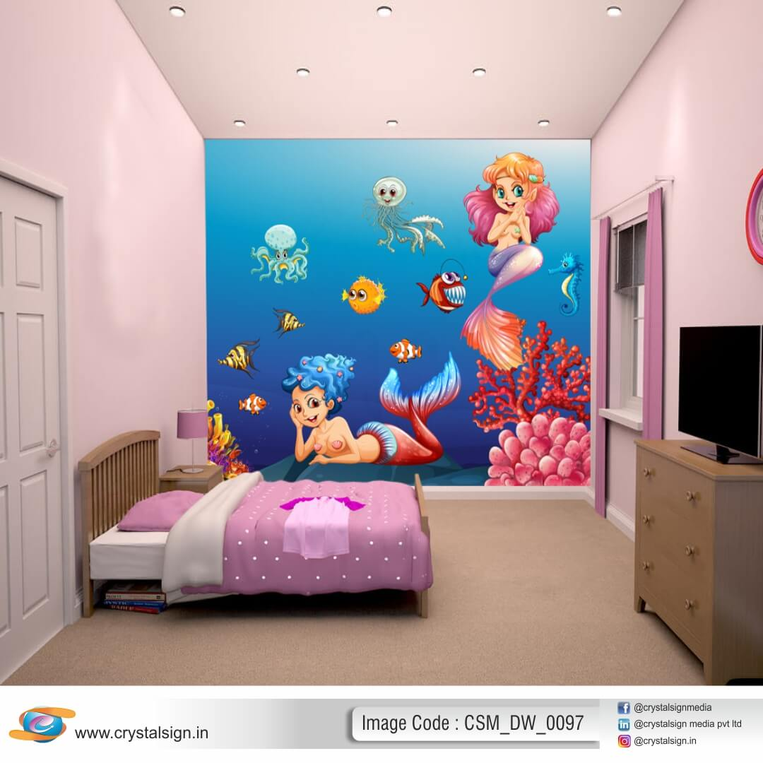 Beautiful 3D HD wall art Bedroom Room Wallpaper CSM DW 0097