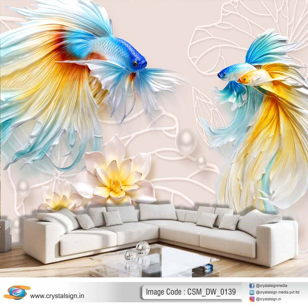 3D HD Abstract wall art Wallpaper CSM DW 00139