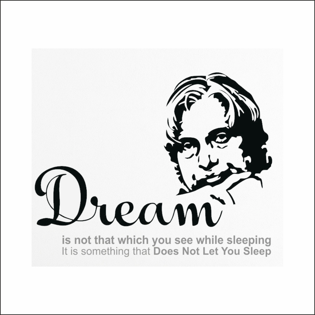 APJ Dream wall Sticker 24InchX16Inch