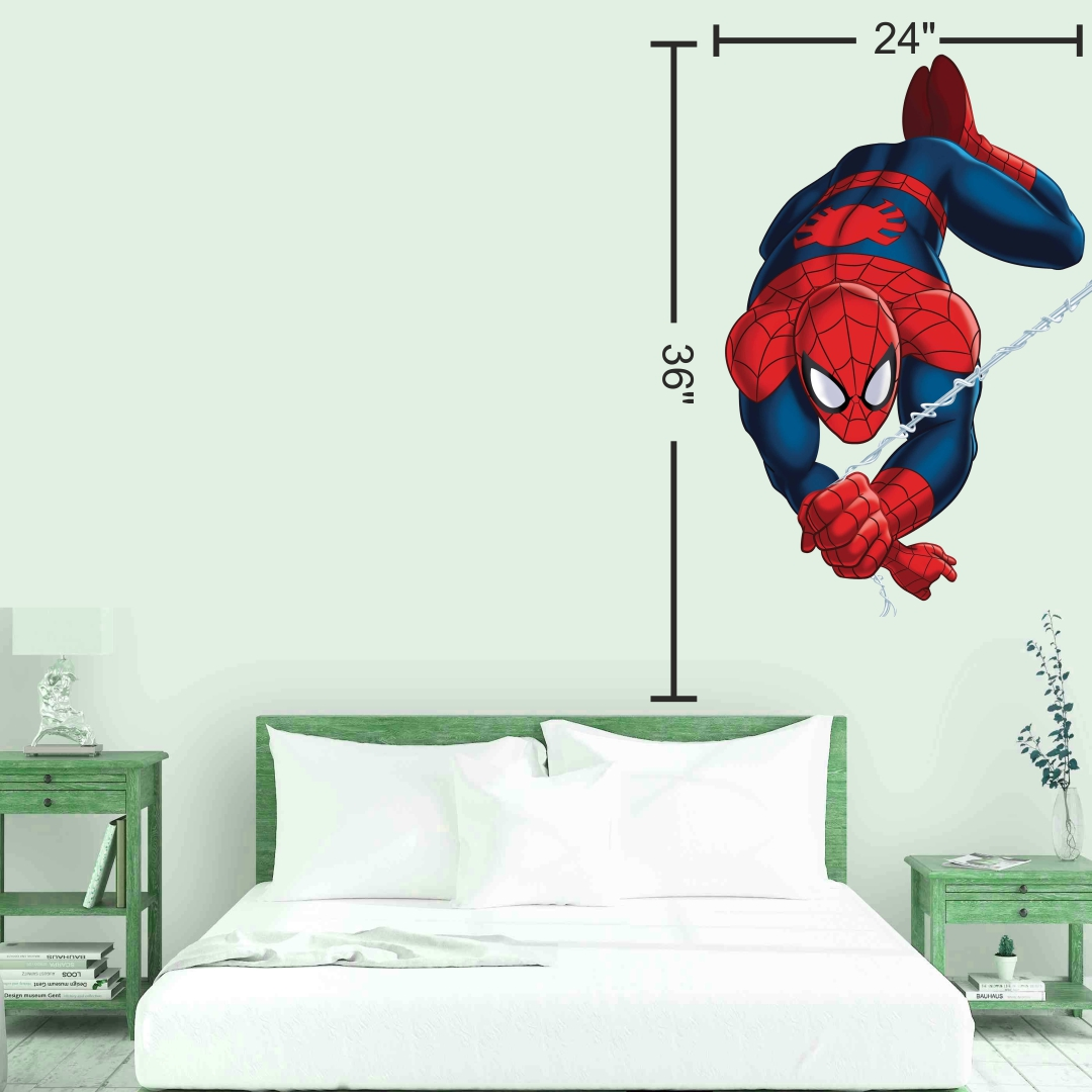 Spiderman wall Sticker 24InchX36Inch