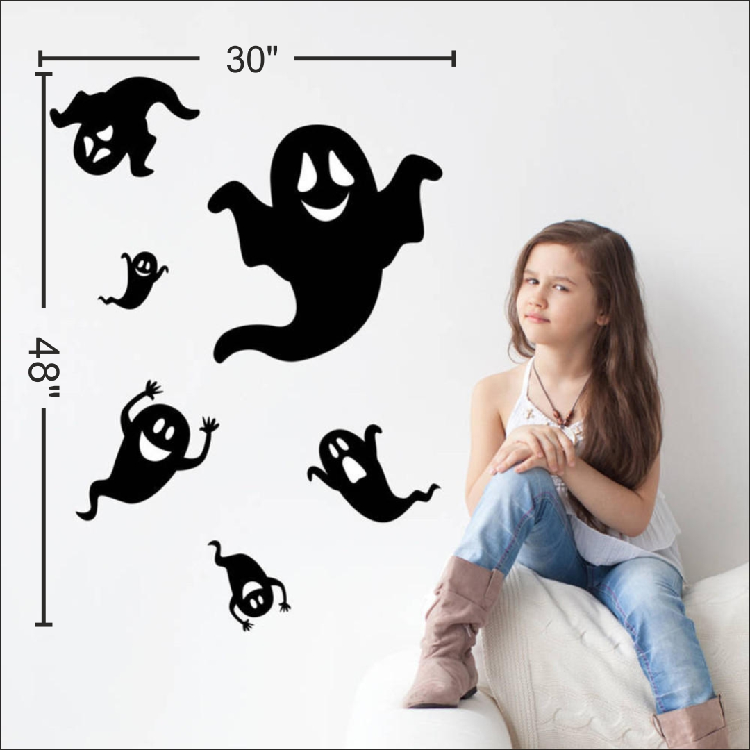 Horrible Removable Scary wall Sticker 30InchX48Inch
