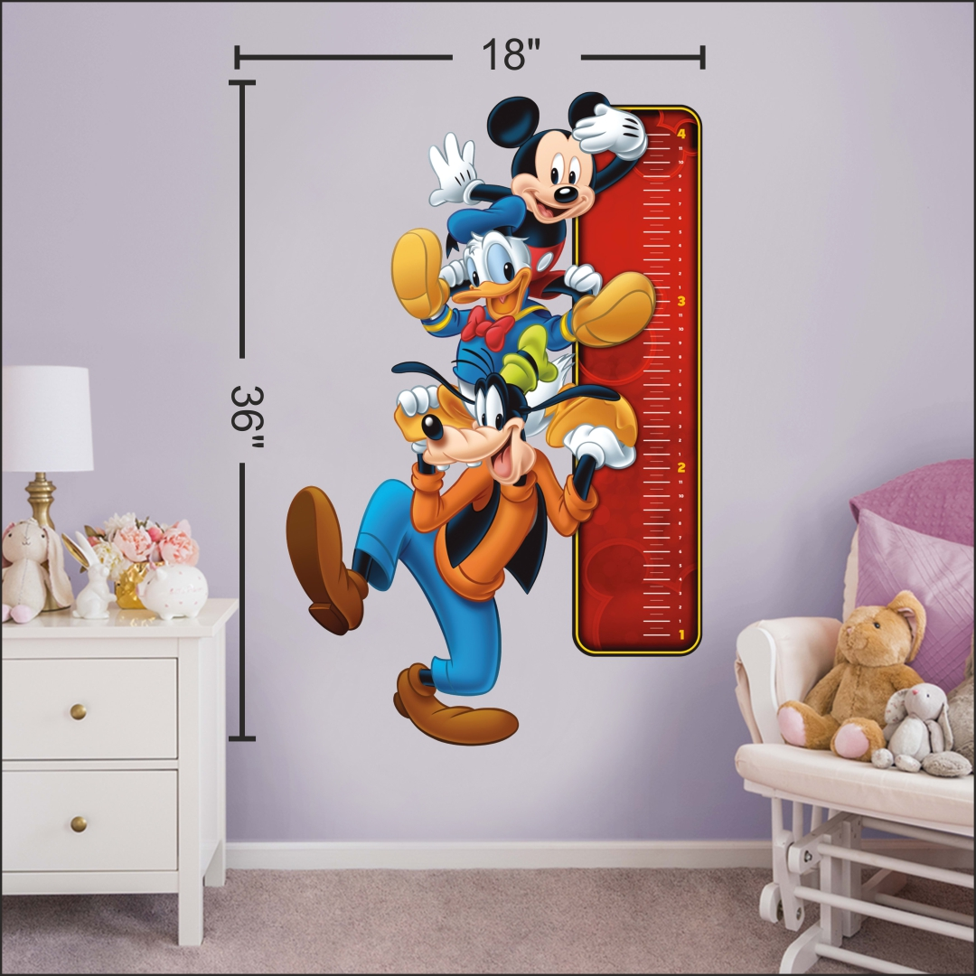 Mickey Mouse wall Sticker 18InchX36Inch