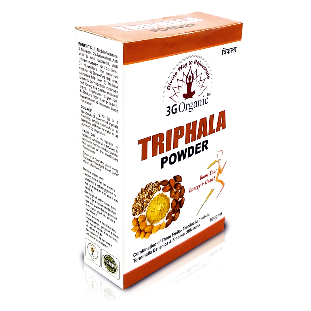 Triphala Powder Organic Hair Pack For Hair Rejuvination