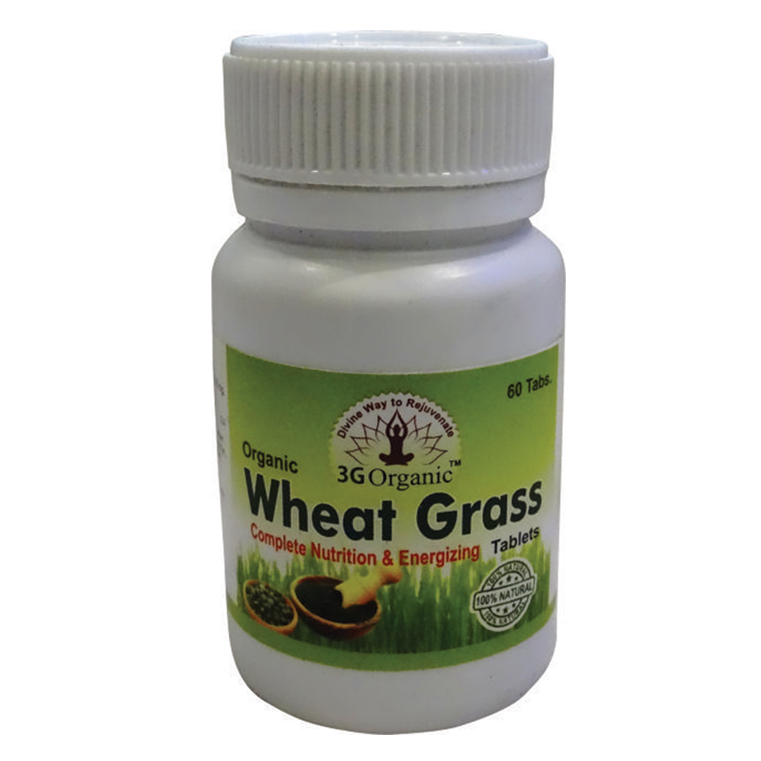 Wheat Grass Tab [500 MG 60 Tab Per Bottle]